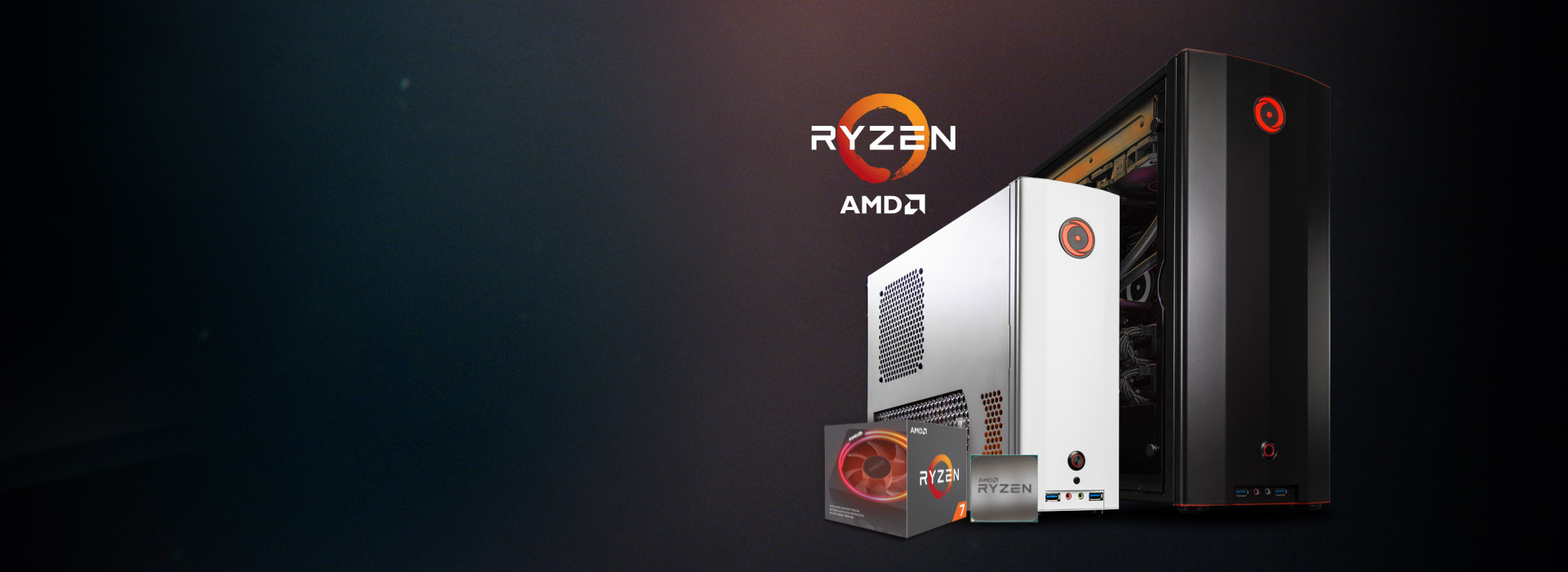 ORIGIN PC Event Systems Powered by AMD Ryzen