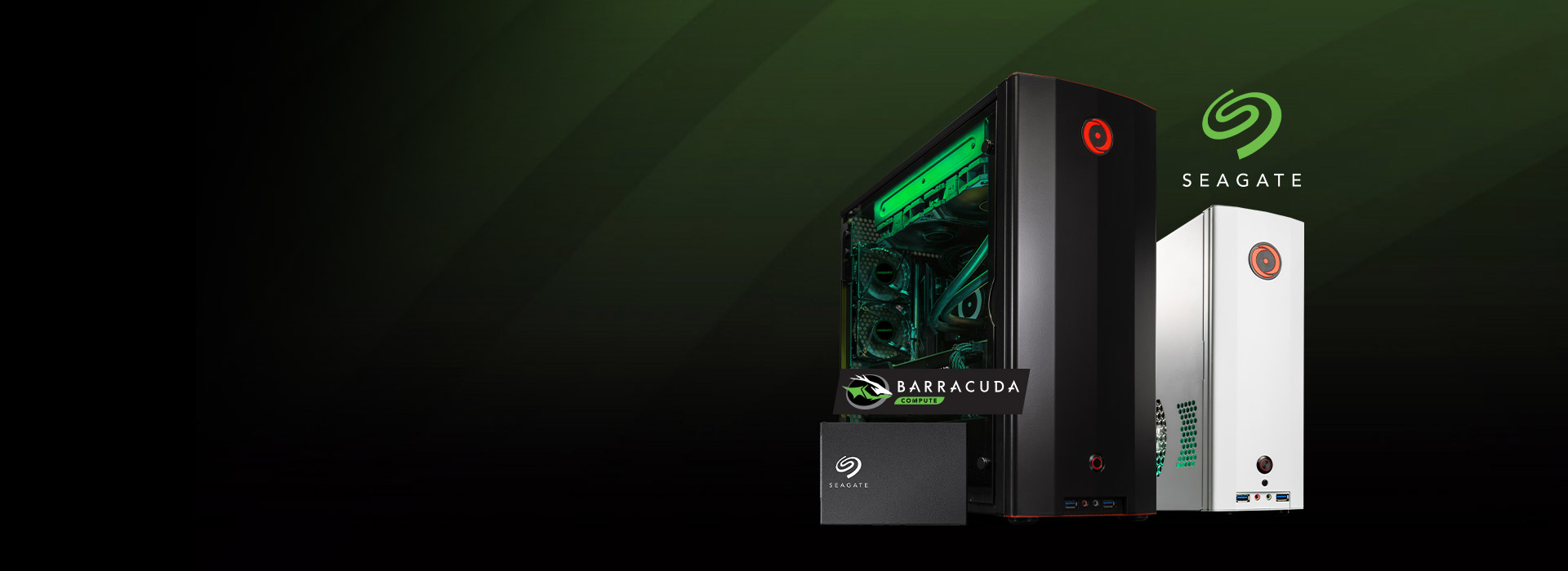 Save $100 On an ORIGIN PC with a Seagate BarraCuda SSD!