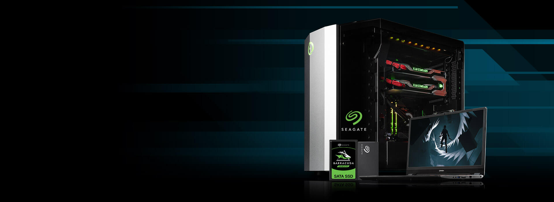 Seagate BarraCude SSDs