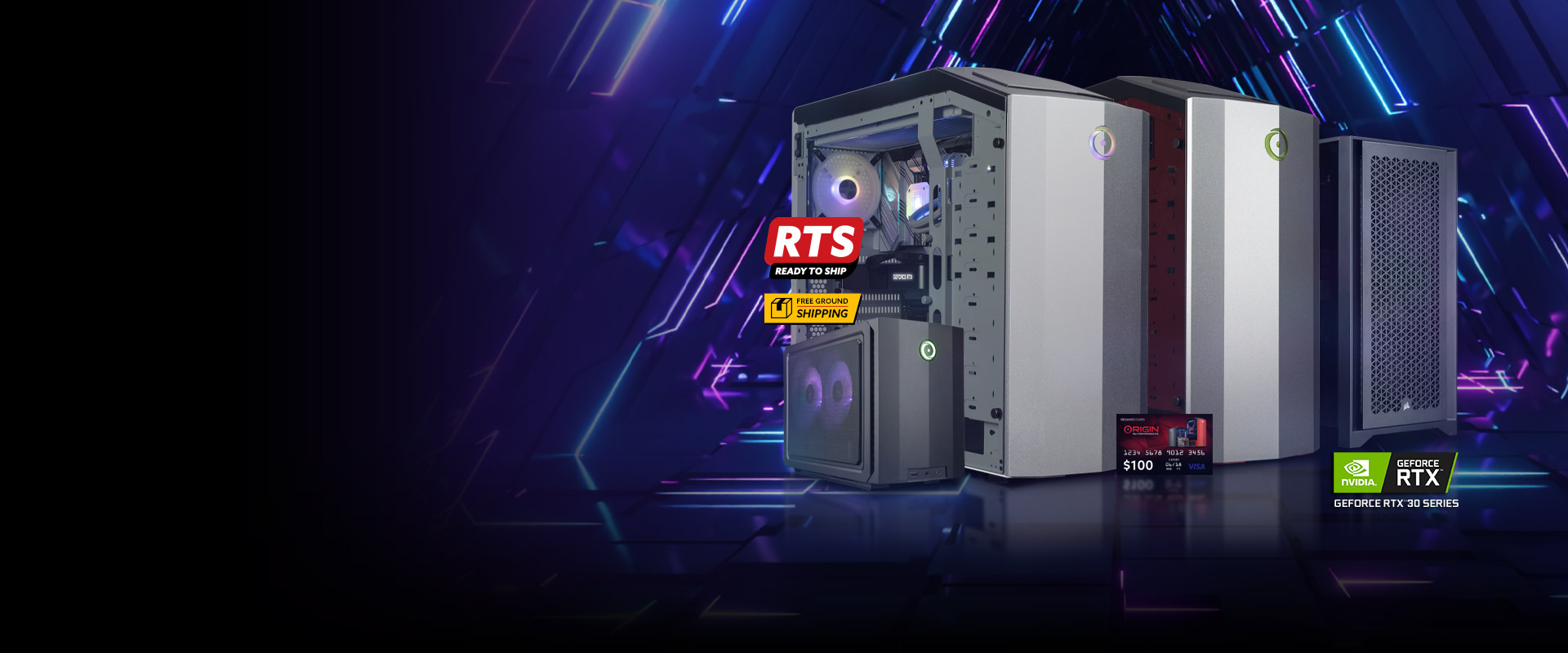 ORIGIN PC Ready-to-Ship (RTS) Systems