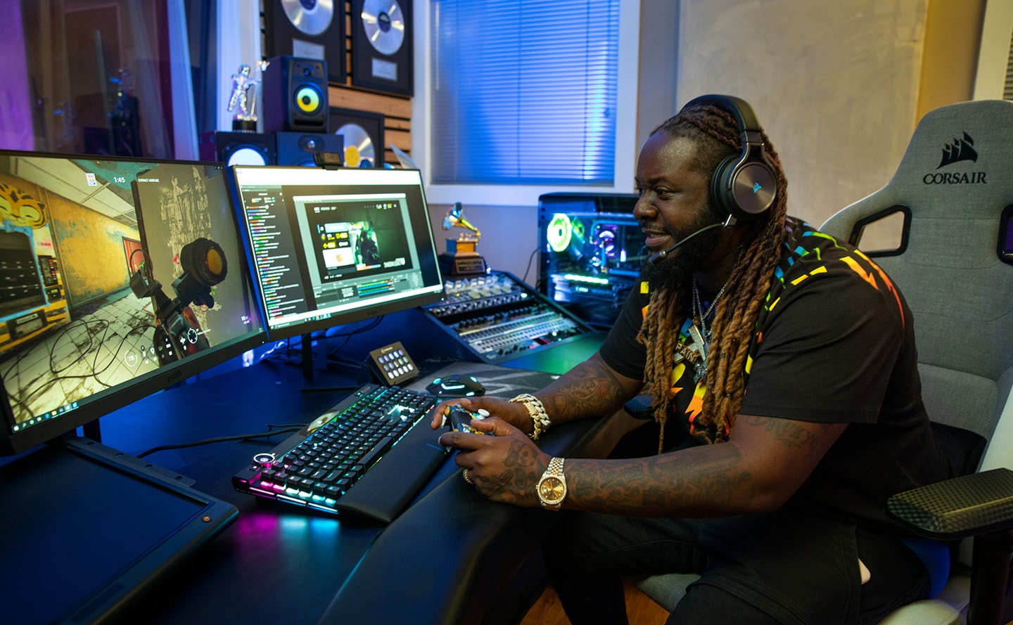 t-pain custom millennium gaming desktop from origin pc