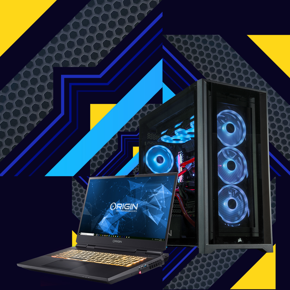 ORIGIN PC MILLENNIUM with Intel Core 11th Gen Processors now available