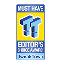 Tweaktown Editor's Choice