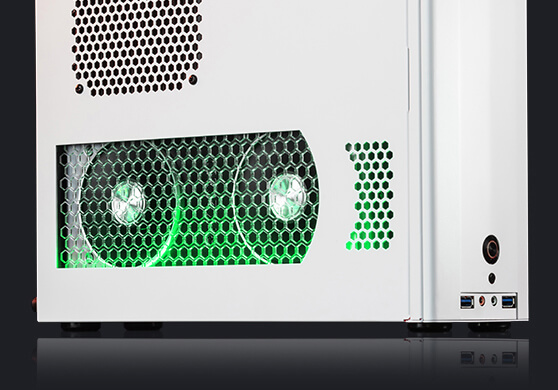 CHRONOS green internal lighting