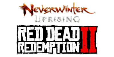 Red Dead Redemptions 2 & Neverwinter Uprising logos