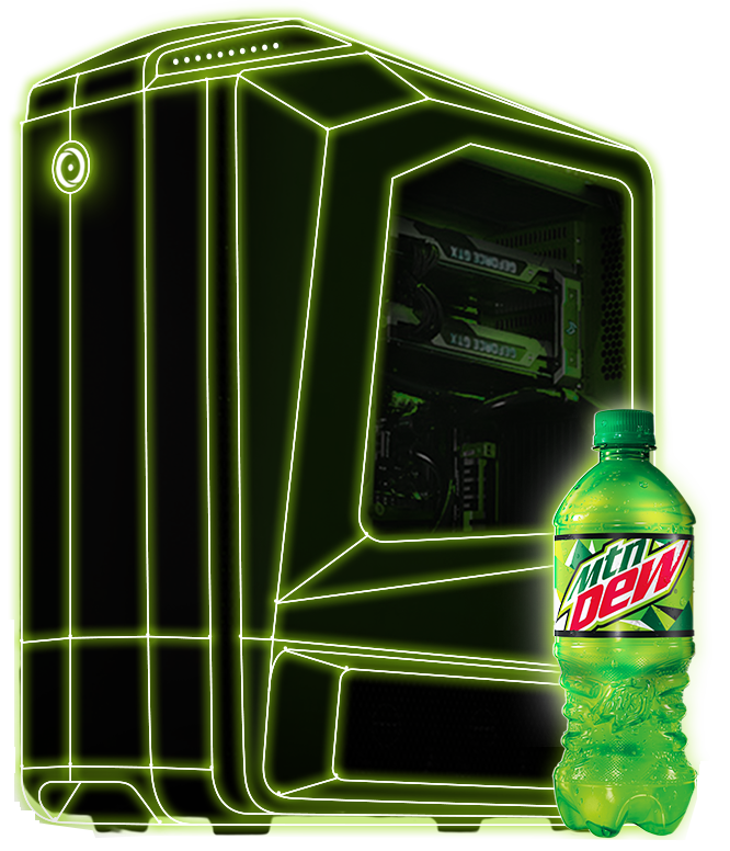 RIG UP! Powered by Mountain Dew and ORIGIN PC