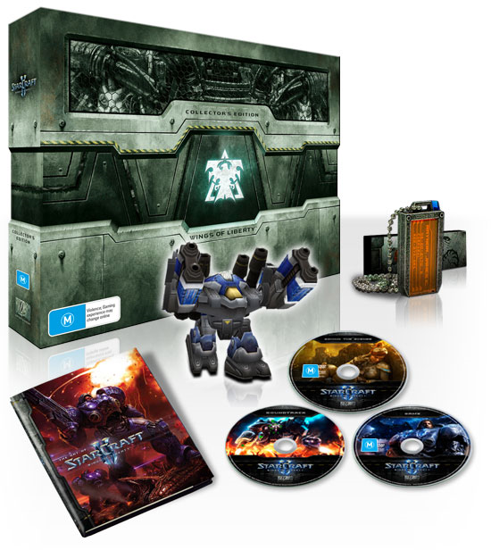 ORIGIN PC Announces Collector's Edition Bundle For The Launch of Starcraft 2