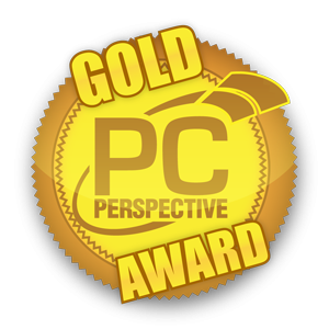 PC Perspective Gives Their GOLD AWARD To Our ORIGIN GENESIS