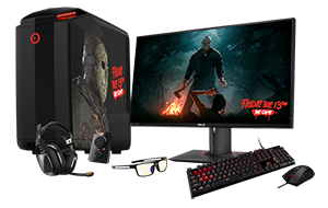 Custom ORIGIN PC MILLENNIUM Giveaway Powered by Friday The 13th The Game and ORIGIN PC