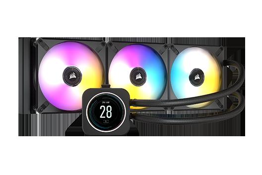 CORSAIR iCUE H150i ELITE CAPELLIX LCD Display