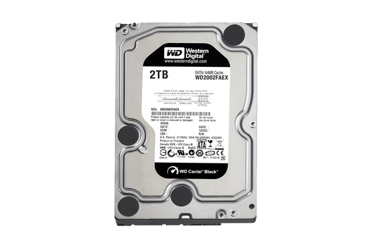 2TB Western Digital Caviar Black