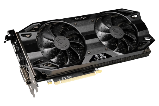 NVIDIA 6GB GeForce GTX 1660