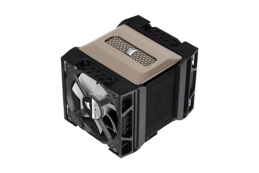 Corsair A500 Air Cooler (Fans matched w/ System Fans)