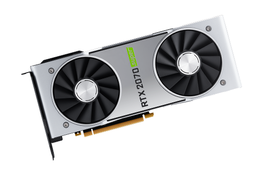 NVIDIA 8GB GEFORCE RTX 2070 SUPER FOUNDERS EDITION