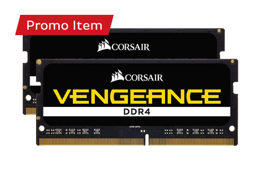 CORSAIR VENGEANCE 8GB 2400MHz (2X4GB) *Free Automatic Upgrade to 16GB