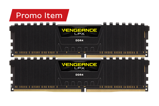 16GB CORSAIR VENGEANCE  3200MHz (2x8GB) *Free Automatic Upgrade to 32GB