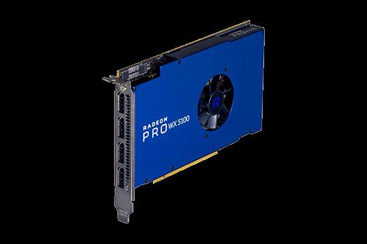 AMD 8GB Radeon Pro WX 5100