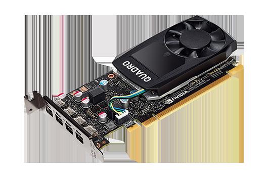 NVIDIA 4GB Quadro P1000
