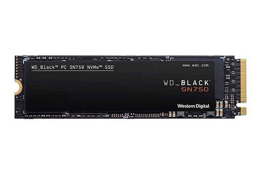 250GB Western Digital Black SN750