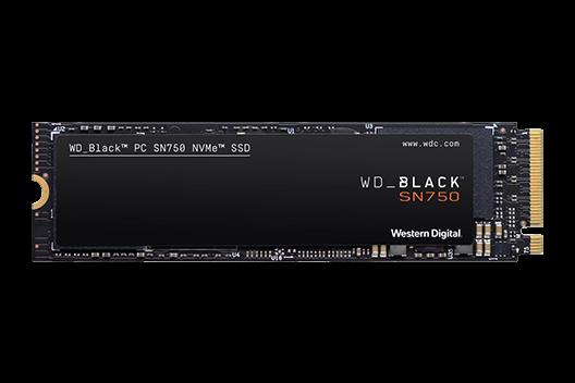 250GB Western Digital Black SN750