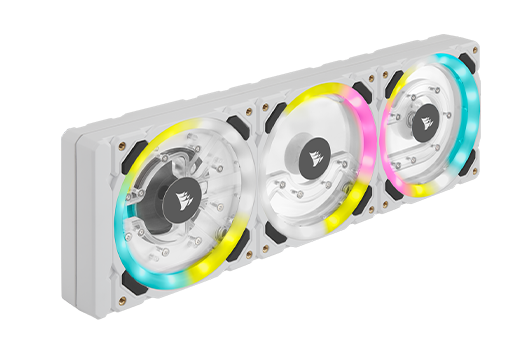 Hydro XD7 Cooling - Hard Line (CPU Only) - White