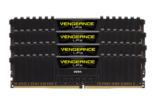 64GB CORSAIR VENGEANCE 3200MHz (4x16GB)