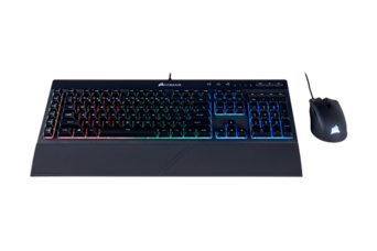CORSAIR Peripheral Combo (Keyboard, Mouse) And Bonus Digital Games