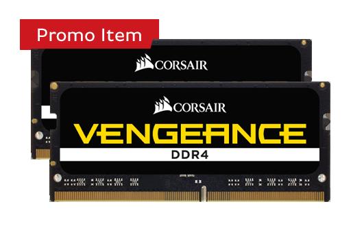 CORSAIR VENGEANCE 8GB 2400MHz (2X4GB) *Free Automatic Upgrade to 16GB
