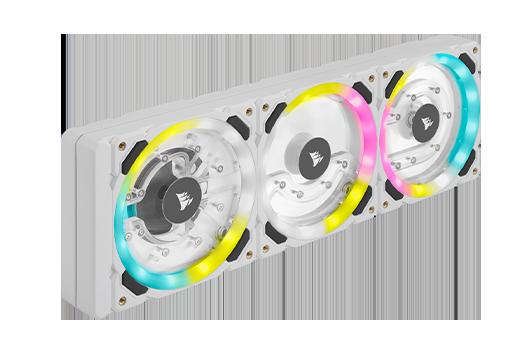 Hydro XD7 Cooling - Hard Line(CPU and GPU) - White