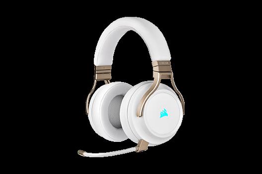 VIRTUOSO RGB WIRELESS High-Fidelity Gaming Headset — Pearl