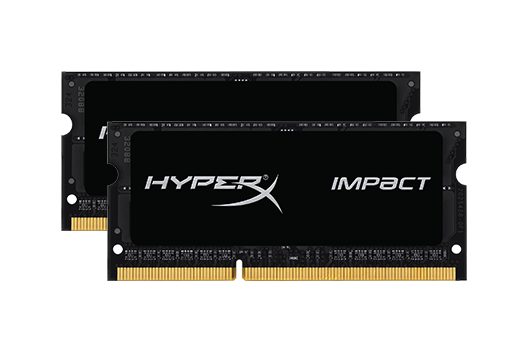 8GB Kingston HyperX Impact 2400MHz (2X4GB)