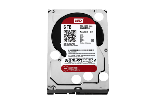 6TB Western Digital Red