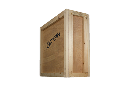 ORIGIN Wooden Crate Armor - CHRONOS and LAPTOP