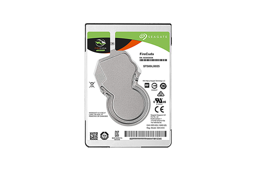 "1TB Seagate 2.5"" FireCuda Flash-Accelerated Hard Drive"