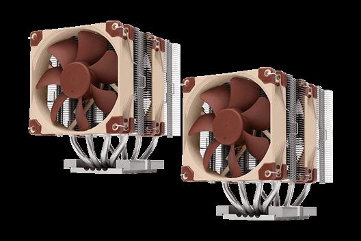 Dual NOCTUA NH-U14S 3647 CPU COOLER