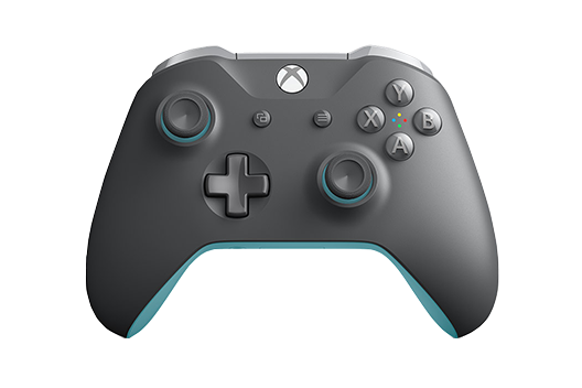 Microsoft Xbox One Wireless Controller Grey/Blue
