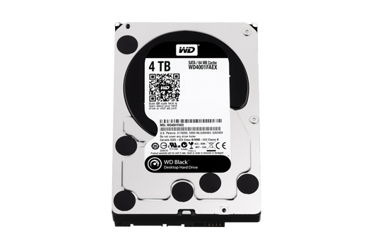 4TB Western Digital Caviar Black