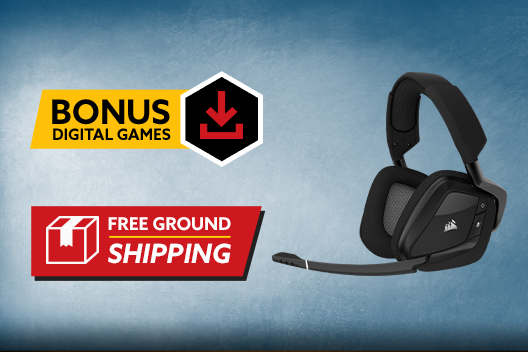 Free CORSAIR VOID RGB Elite Wireless Headset Plus Free Shipping - $150 Value