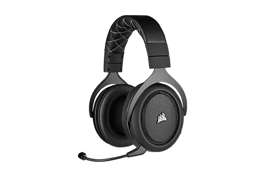 HS70 PRO WIRELESS Gaming Headset — Carbon