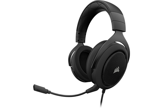 CORSAIR HS60 Surround Headset Carbon