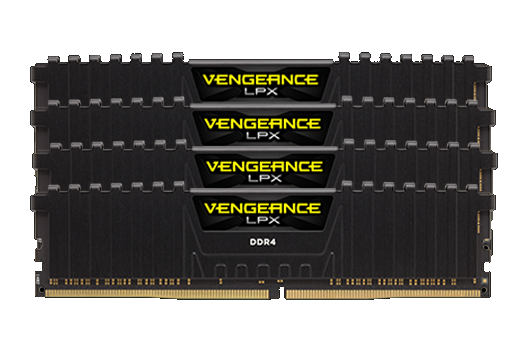 128GB CORSAIR VENGEANCE  3200MHz (4x32GB)