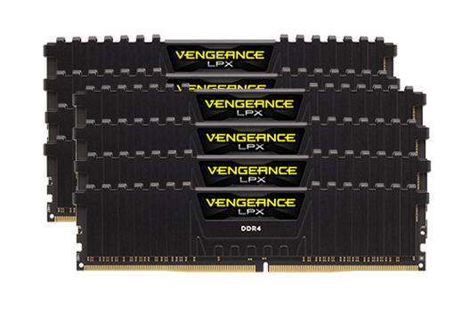 64GB CORSAIR VENGEANCE  3200MHz (8x8GB)