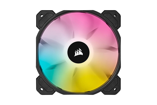 CORSAIR SP120 Elite Performance iCUE RGB controlled by iCUE software