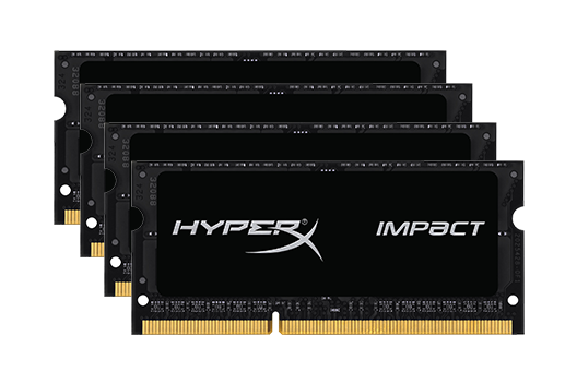 64GB Kingston HyperX Impact 3200MHz (4X16GB)
